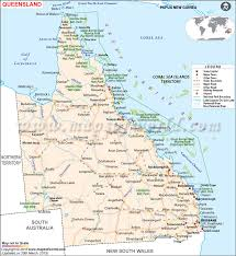 map of queensland map of queensland queensland map maps of