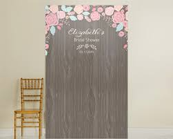 personalized photo backdrop personalized photo backdrop rustic bridal woodgrain kate aspen