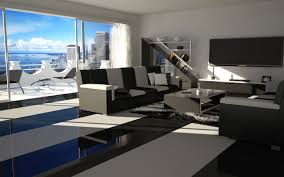 Black And White Living Room Ideas by Bachelor Pad Ideas