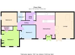 Barn Conversion Floor Plans Beckfoot Silloth Wigton Cumbria Hopes Estate Agents Floor Plan