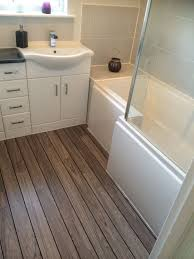 Ideas For Bathroom Flooring The 25 Best Wood Floor Bathroom Ideas On Pinterest Teak