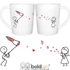 his mugs boldloft catch my his and hers coffee mugs matching