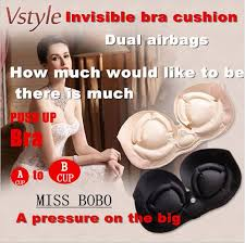 backless push up bra for wedding dress miss invisairpad bra push up aerated bra self adhesive