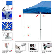 Market Stall Canopy by Amazon Com Eurmax Premium 10x10 Trade Show Tent Event Canopy