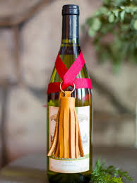 wine bottle gift wrap 10 ways to gift wine without a bag hgtv s decorating design
