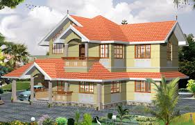 2000 sqft 3bhk house plan kerala home floor plans with photo