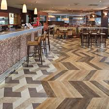 Commercial Wood Flooring Resilient Vinyl Flooring For Commercial Applications