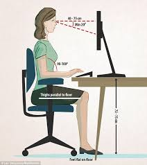 Computer Desk Stretches Expert Reveals How To Prevent Slumping At Your Desk From Damaging