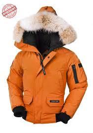 it s new canada goose chilliwack bomber sunset orange youth s on
