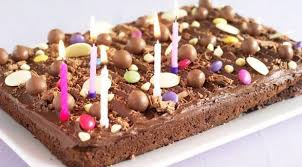 recipe chocolate birthday tray bake belfasttelegraph uk