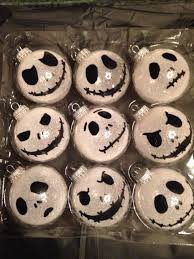 diy nightmare before tree ornaments nightmare before