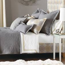 Bedroom Decorating Ideas In Grey Bed U0026 Bedding Thom Filicia Luxury Bedding By Eastern Accents In