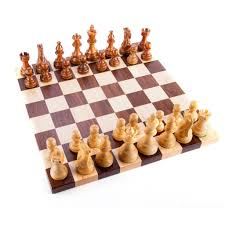 walnut u0026 maple chess set board u0026 pieces citywoods