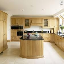 oak kitchen design ideas light oak framed kitchen jpg 1333 800 кострища