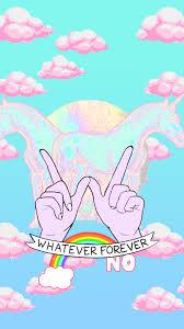 creepy kawaii background fairytale love unicorn wallpaper desenhos pinterest