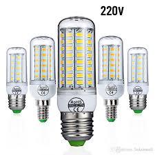 heat generating light bulbs e27 led l e14 led bulb smd5730 220v corn bulb 24 36 48 56 69
