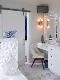 Bathroom Vanity With Makeup Station Makeup Station Home Design Ideas Pictures Remodel And Decor