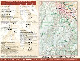 Oregon Road Map by Ashland Chamber Of Commerce Map Of Ashland Oregon Northwest