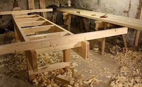 How To Build A Trestle Table Workbench Height How To Build A Workbench To Fit Your Woodworking