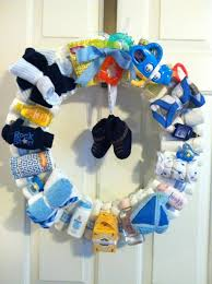 Funny Baby Shower Games For Guys - best 25 diaper wreath ideas on pinterest baby boy shower
