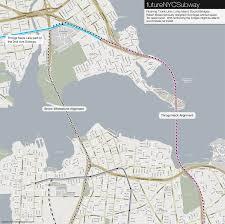 Queens Neighborhood Map The Futurenycsubway Queens Flushing Trunk Line U2013 Vanshnookenraggen