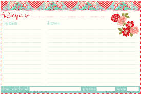 printable recipe cards 4 x 6 26 6 x 4 photo template 8 best images of 4x6 index card printable