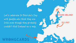 st patricks day ecard identity issues wrongcards