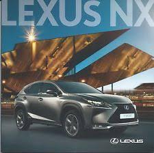 nx lexus car manuals and literature ebay