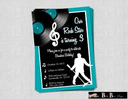 music birthday party invitations vertabox com