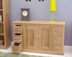 Slim Sideboards Mobel Oak Sideboard With 6 Drawers Mobel Oak