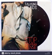 Talking Photo Album Talking Heads Stop Making Sense 1984 Film Soundtrack Album Cover