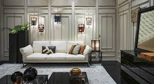 Casa Moda Furniture Collection by First Fendi Casa Flagship Opens In Milan Lvmh