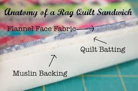 rag quilt craft