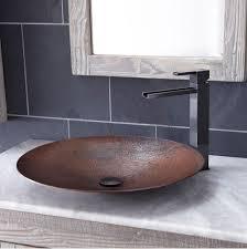 sinks bathroom sinks vessel copper tones advance plumbing and