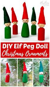 peg doll ornaments for rhythms of play