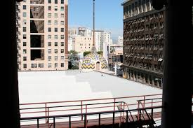Apartments Downtown La by Rooftop Herald Examiner Los Angeles Filming Location