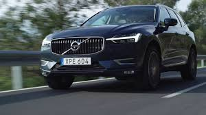 Denim Blue 208137 New Volvo Xc60 T6 Denim Blue Driving Footage Youtube