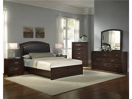 furniture elegant bedroom furniture set in tan by walker 4 pieces bedroom furniture set in brown by