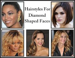 hairstyles for diamond shaped face 2016 most favorable hairstyles for your face shape hairstyle for