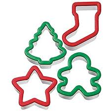 shapes plastic cookie cutters 6 pc sets