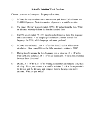 multiplying and dividing scientific notation worksheet assessment 3 review scientific notation