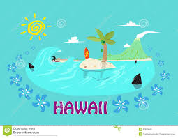 Hawaii travel clipart images Hawaii beach travel concept aloha royalty free stock photos jpg