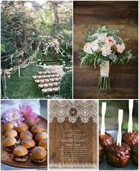 wedding theme chic backyard bbq