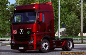 mercedes benz actros mp4 red mercedes benz actros mpiv v 2 1 0 by danz download ets 2 mods