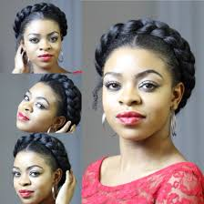 black hair goddess style faux goddess braid natural hair protective style youtube