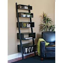 decorating perfect leaning bookshelf design for your home