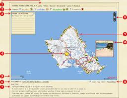 map of hawaii island hawaii map guides oahu big island kauai and maps