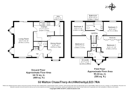 Walton House Floor Plan 4 Bed Detached House For Sale In Walton Chase Thorp Arch