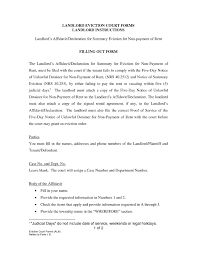 Sample Employment Resume by Landlord Eviction Letter The Letter Sample