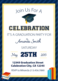 kindergarten graduation invitation template sle with border